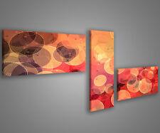 Quadri moderni astratti 180 x 70 stampe su tela canvas con telaio MIX-S_58
