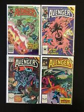4 Issue Lot - Avengers 263, 265, 298, 299 X-Factor Inferno Secret Wars 2