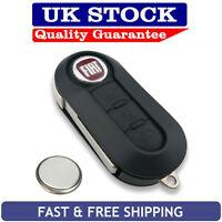 Fiat 3 Button Remote Key Fob Case Service Kit Fits Punto Evo Stilo Marea Idea