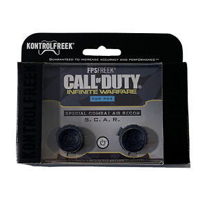 KontrolFreek Call Of Duty Infinite Warfare Thumbsticks for PS4 PS5 New Blue FPS