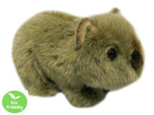 WOMBAT 18CM eco friendly plush soft toy 100% recycled polyester fibre cuddly