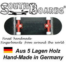 Komplett Holz Fingerskateboard SWZ/RT/WS SOUTHBOARDS® Handmade Wood Fingerboard