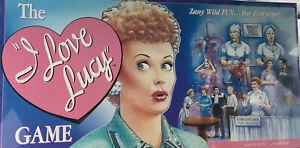 The I Love Lucy Board Game 1997 Zany Wild Fun Talicor #1400 SEALED