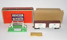 High Grade Lionel No. 3662-1 Postwar Auto Refrigerated Milk OB (DAKOTApaul)