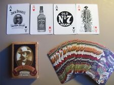 JACK DANIEL'S WHISKEY DECK OF PLAYING CARDS.HAS EXCELLENT ACES.(UNUSED=MINT)
