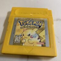 Pokemon Yellow Special Pikachu Edition Gameboy Color Authentic *PARTS/REPAIR*