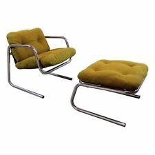 Chrome Mid-Century Modern Antique Chairs