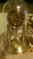 Junghun Westminster  Pendulum Dome Clock Gold   Germany (plz read discription)