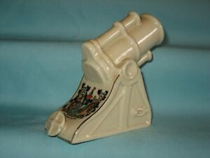 Queens China WW1 British Trench Mortar* - SOUTHEND-ON-SEA Crest