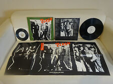 ULTRA RARE PROMO LOT! The Clash Self Titled S/T 1st LP/45/IN-STORE POSTER! WLP