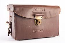 Vintage Alpa Reflex Omnica Large Leather Camera Lens Filter Case V13