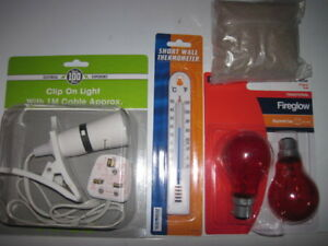 Start Up Brooder Kit Heat Lamp Chick Food Anti-Slip Mat and Thermometer
