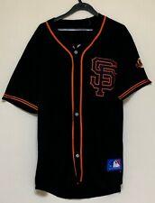 San Fransisco Gaints Black And Orange Baseball Adult Jersey