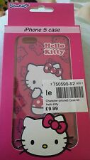 Hello Kitty pink iphone 5 case BNIB
