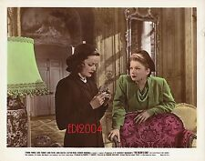 """GENE TIERNEY & ANNE BAXTER Vintage Original Photo COLOR 1946 """"RAZOR'S EDGE"""""""