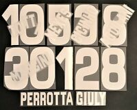 NOME+NUMERO UFFICIALE AS ROMA HOME 2007-2009 official nameset