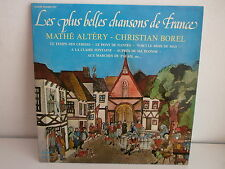 MATHE ALTERY / CHRISTIAN BOREL Les plus belles chansons de France 227