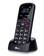 TTfone Comet Big Button Senior Mobile Phone - O2 Pay As You Go with £10 Credit