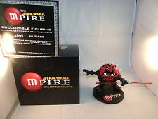 "STAR WARS Darthmaul MPIRE M&M's 6"" Figurine LIMITED EDITION COLLECTIBLE FIGURE"