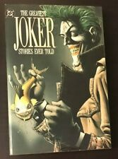 The Greatest Joker Stories Ever Told Vol 3 TPB 1989 Batman softcover paperback