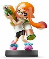 40543 amiibo Super Smash Brothers Series Inkling Girl /Nintendo JAPAN