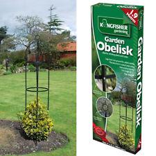 1.9M Metal Steel Garden Obelisk Rose Plant Flower Climber Home Trellis Support