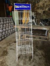 grand présentoir MICHELIN plaque no émaillée  déco commerce loft altelier