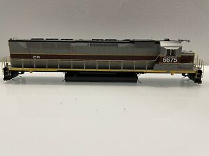 Athearn Genesis HO scale Conrail SDP45 Shell And Chassis