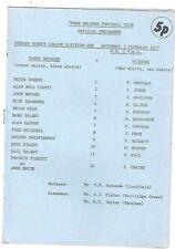 Three Bridges v Wigmore 1976/7