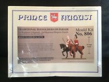 Brand New. Prince August Mould Kit No. 806. Lifeguards and Dragoon Guards.