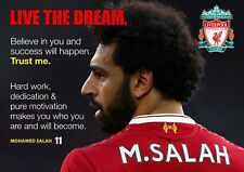 Mo Salah Poster #7 - Liverpool Player - Motivational - A3 - 420mm x 297mm (NEW)