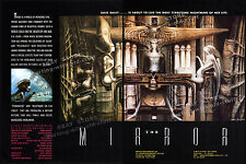 H.R. GIGER_THE MIRROR__Orig 1987 Trade AD_unmade film promo_poster__Necronomicon