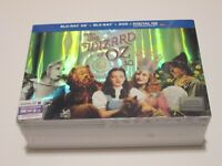 The Wizard of Oz 3D Blu-Ray + Bluray + DVD Limited Edition RARE OOP