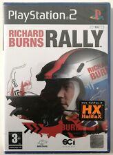 RICHARD BURNS RALLY - PS2 - PLAYSTATION NUOVO SIGILLATO - NEW SALED