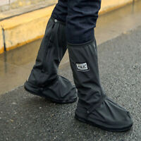 1 Pair Adult Waterproof Overshoe Reusable Rain Boot Motorcycle Bike Shoes Covers