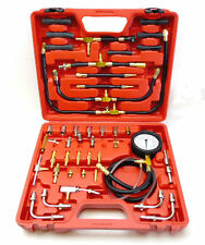 Fuel Injection Compression Pressure Test Meter Gauge Universal Tool Set