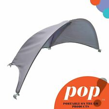 Summer Pop ?n Play Portable Canopy For Playard, Grey ? Lightweight Play Pen