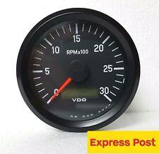 VDO INTERNATIONAL TACHOURMETER 12/24V 80mm 3000 RPM 333035010 tachour-tacho