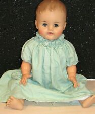 """IDEAL 1950's Vintage 21"""" Drink And Wet Baby Doll SW-22 Molded HairSO CUTE"""