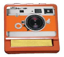 Tobacco Case Hand Roller Rolling Machine Cigarete Metal Photograph Camera Orange