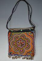 Fine Vintage Tribal bead work bag Lamani  Karnataka  India