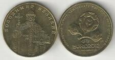 2 UNCIRCULATED 1 HRYVIN COINS from UKRAINE - 2006 & 2012 (2 TYPES)