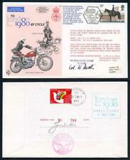 C66c To London by Cycle 1980 Special Signed by General Dudli