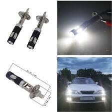 2x H1 50W CREE High Power LED Xenon White Car Truck Fog Light Daytime Bulb 6000K