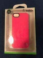 Belkin Grip Neon iPhone 5 Case Cover Pink