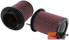 K&N Replacement Air Filter For AUDI R8 4.2L V8 09-14 (2 PER BOX) E-0668