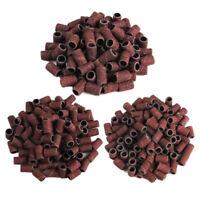50pcs/bag Nail Drill Bit Art Sanding Bands Gel File Polish Electric Remover Tool