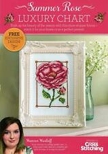 The World of Cross Stitching Free Gift from Issue 245 - Summer Rose