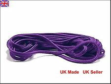 Silky Bondage Rope, Shibari,deep purple, UK made, 15 metres, 6mm thick