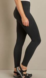 NEW Duluth Trading Company NoGA Sculpting Ultra HR Leggings NWT- Black-XS/ Small
